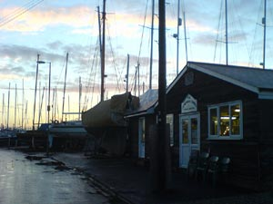 photo of West Mersea's fish hut