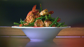 Photo of Zesty Chilli Tiger Prawns from BBC website