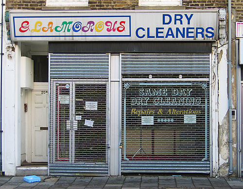Glamorous Dry Cleaners - photo by Emily Webber